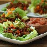 Pork Lettuce Tacos, Click for recipe