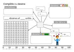 Ateliers mathématiques (numération et calcul) - Caracolus Math Games, Math Activities, Daily 3 Math, Math Problem Solving, Math School, Math Help, 4th Grade Math, Grade 2, Math Numbers