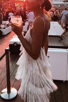 Sexy Tassel Backless Sleeveless Maxi Mini Dress - White Dresses - Ideas of White Dresses - Sexy White Tassel Backless Sleeveless Maxi Mini Dress Cream Bridesmaids, Cream Bridesmaid Dresses, Bridal Dresses, Cream Dresses, Prom Gowns, Homecoming Dresses, Prom Dress, Sexy Dresses, Casual Dresses