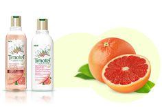 Řada Timotei Okouzlující objem, která je obohacena o přírodní výtažky z růžového grapefruitu, je určena pro jemné a oslabené vlasy. Dodá jim objem, plnost a přirozeně zdravý vzhled.