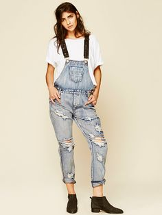 Free People Zeppelin Overall, $168.00