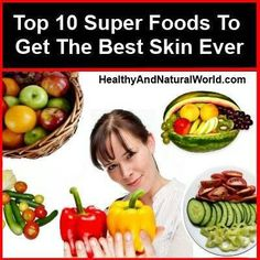 Superfoods for best skin