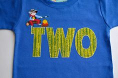 Boys 2nd Birthday Shirt Cowboy Campfire by TheColorfulYears, $30.00