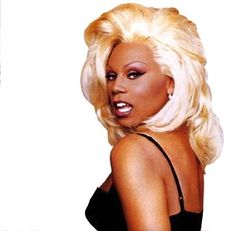 "♥ RuPaul. And visit the ""Shit RuPaul Says"" tumblr to add some fierceness to your day."