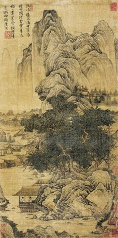 Painted by the Ming Dynasty artist Tang Yin 唐寅(伯虎) View paintings, artworks and…