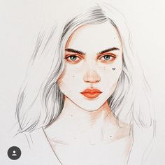 Drawing. Çizim. Sanat. Resim. Kız çizimi