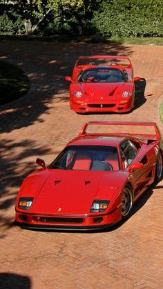 Ferrari F40 & F50.