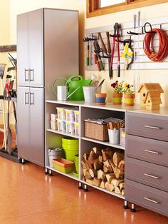 49 Brilliant Garage Organization Tips, Ideas and DIY Projects. Help store your RYOBI tools!