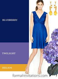 Fresh Summer Wedding Color Ideas in Blueberry, Lavender and Yellow | Invitation IdeasInvitation Ideas