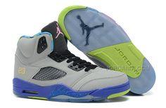 de9878e7a0d9 New Air Jordan 5 Retro Bel Air Cool Grey Court Purple Game Royal Club Pink  Mens Sneakers