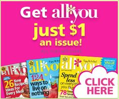 Hot! All You Magazine Deal - 6 Issues for $6 - http://www.livingrichwithcoupons.com/2013/07/hot-all-you-magazine-deal-6-issues-for-6.html
