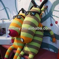 bricolaje de navidad lindo de punto hechos a mano juguetes calcetín calcetín de la muñeca-Animales Peluche-Identificación del producto:681619027-spanish.alibaba.com
