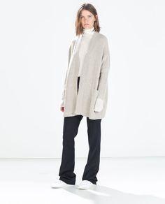 Image 1 of OVERSIZE JACKET WITH POCKETS from Zara