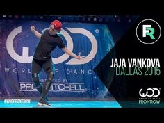 Jaja Vankova | FRONTROW | World of Dance Dallas 2015 #WODDALLAS2015 - YouTube