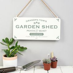 Wooden Garden Shed Signs - In today's world, you will find a majority of individuals seeking outdoor accessories for their Gifts For Mum, Cute Gifts, Special Gifts, Peg Hooks, Shed Signs, Metal Shed, Garden Mum, Garden Wall Art, Small Space Gardening