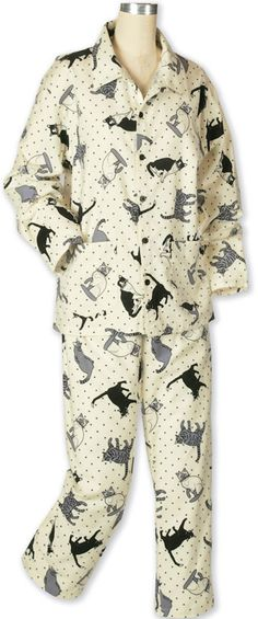 Cat Pajamas | Women's Apparel | Acorn Online GOOD FABRIC IDEA FOR MAKING OWN PJ