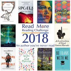 #readmore2018 #readingchallenge #books #authoryouveneverread #seymourlibrary