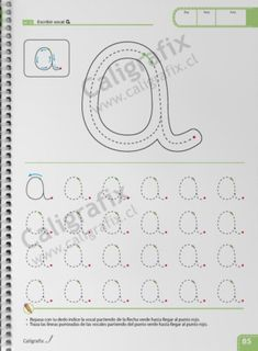 Tracing Letters, Notebook, Bullet Journal, Lettering, Emilio, Album, Alphabet, Texts, Flower