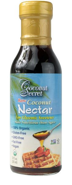 Coconut Secret Raw Coconut Nectar & Coconut Aminos