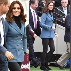 Another surprise visit by The Duchess of Cambridge today as she joined Princes William and Harry at the graduation of 150 Coach Core coaching apprentices at West Ham's stadium.   I'll post more when I'm able. Sorry for the delay. #lifecalls  #royal #BritishRoyalty #monarchy  #royaltour #duchessofcambridge #princewilliam #healthpermitting #britain #england
