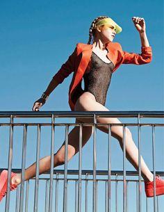 visual optimism; fashion editorials, shows, campaigns  more!: beauté: line brems…