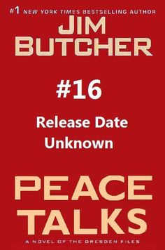 Dresden Files Book 16: PEACE TALKS - What we know and Dresden Files Film News