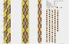bead crochet rope 12 around