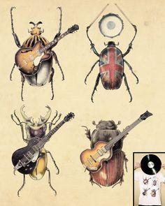 Meet the Beetles    by opifan64