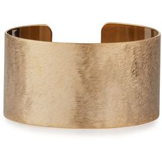 Panacea Golden Scratched Cuff Bracelet (87 PEN) ❤ liked on Polyvore featuring jewelry, bracelets, accessories, gold, gold bangles, polishing gold jewelry, cuff bracelet, golden jewelry and gold cuff bangle