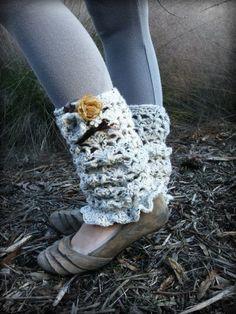 cozy crochet legwarmers