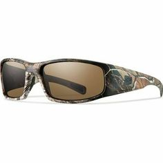 f72de641c494 eBay  Sponsored Smith Optics Elite Hideout Tactical Sunglass Polar Brown  Realtree A P