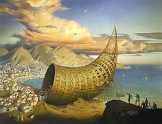 «Horn Of Babel» | Vladimir Kush