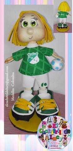 fofucho futbolista personalizado: deportivo Cali