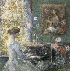Improvisation, 1899, by Childe Hassam