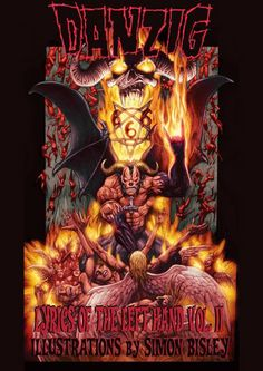 "via Blabbermouth, we have this: The second collection of lyrics of Glenn Danzig songs from DANZIG, SAMHAIN and the MISFITS will be released as ""Hidden Lyrics Of The Left Hand Volume II""… Vintage Halloween Posters, Vintage Posters, Pantera Band, Danzig Misfits, Simon Bisley, Glenn Danzig, Horror Monsters, Band Posters, Dark Fantasy Art"
