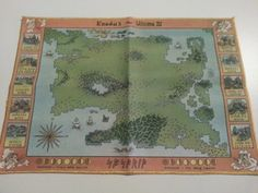 Ultima 3: Exodus for Commodore 64 big box and collector's notes - Abandonware DOS