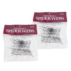 LAEMILIA Décoration Affreuses Halloween Coton Toile d'Araignée Jouets Veille Toussaint Décoratif Fête