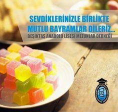 Beşiktaş Anadolu Lisesi Mezunlar Derneği bayram çalışması. Arkaplan görsel hazır alınmıştır.