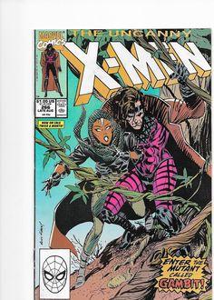 X-Men #266 Marvel Comics 1st Appearance Gambit VF