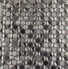 hot sale round metal mosaic stainless steel sheet tile decor wall panel bedroom shower indoor home mosaics home improvement(China (Mainland)...