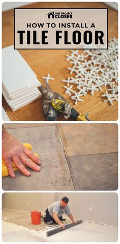 How to Install a Tile Floor (Complete Guide) - One Project Closer