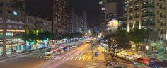 Taipei - Keelung Rd. and GuangFu South Rd. Intersection