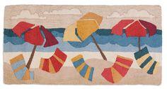 Beach Umbrellas 2'x4' Rug