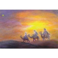De heilige drie koningen (K40-81) ansichtkaart
