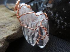 Twin Crystal  AND Window Crystal Quartz Copper by DarkMoonBazaar