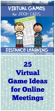 Looking for ideas for ideas for your Zoom or Google Meet classroom meetings? Try these interactive games for fun and learning. Games are a great way to engage children from home while practicing important math and literacy skills. Choose a new game to play at each of your online meetings. There are 25 game ideas in all to make planning for your online meetings easier! Literacy Games, Literacy Skills, Fun Classroom Games, Classroom Signs, Home Learning, Learning Activities, Leadership Activities, Teaching Resources, Star Citizen