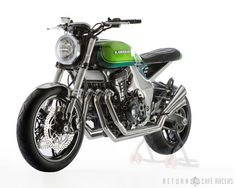 Kawasaki Z1000 40th Anniversary Concept ~ Return Of The Cafe Racers - 640x512 - jpeg