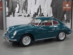 1961 Porsche 356 Coupe For Sale, This 356 B Coupe was delivered in 1961 by the famous American Brumos Porsche corp. This Porsche d Porsche 991 Gt3, Porsche 356 Speedster, Porsche Models, Bmw Classic Cars, Classic Motors, Rear Wheel Drive, Automotive Design, Vintage Cars, Retro Vintage