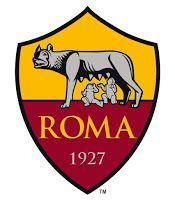 The modern soccer club AS Roma has Romulus, Remus, and the She-Wolf on their badge. Football Team Logos, Soccer Logo, World Football, Sports Logo, As Roma, Psg, Roma Club, Champions League, Football Mondial