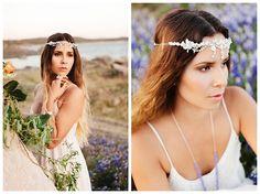 Vivid Bohemian Wedding Inspiration |  by Ellie Baygulov Photography |  Jewelry : Nesoi Collection | www.smitten-mag.com